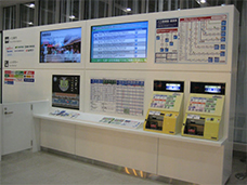 Transportation information counter for international lines