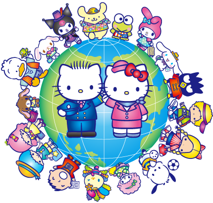 hello kitty happy flight new chitose airport terminal relax time clipart relax clipart humor