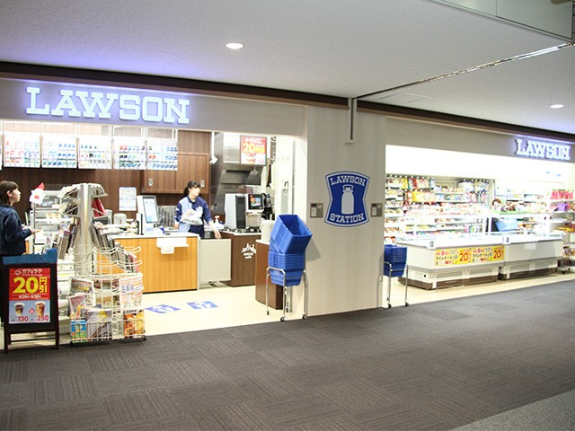 LAWSON New Chitose Airport gate lounge shop